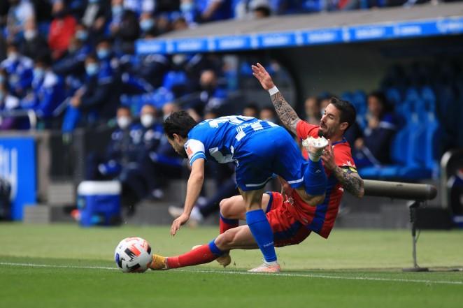 Imagen del partido Deportivo de la Coruña y Numancia