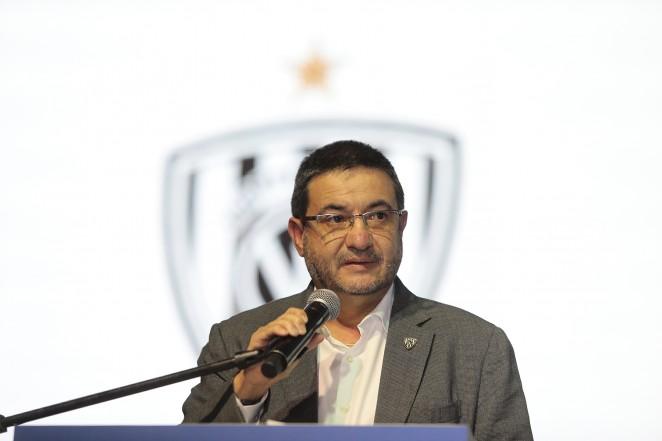 Santiago Morales presidente Club deportivo numancia