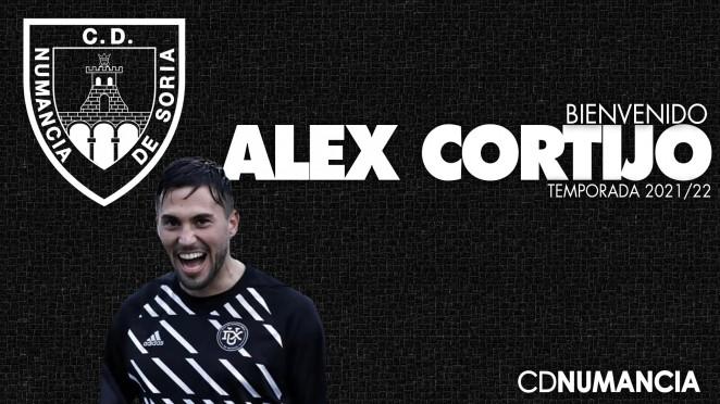 Alex Cortijo ficha por el Club Deportivo Numancia de Soria