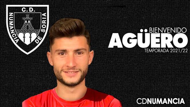 Cristian Fernández Rodríguez 'Agüero' ficha por el Club Deportivo Numancia de Soria