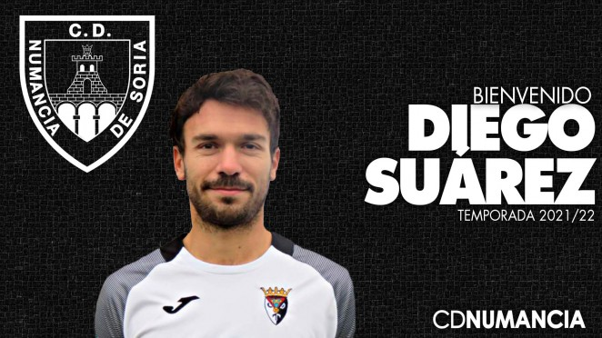 Diego Suárez, nuevo jugador del Numancia de Soria