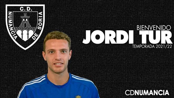Jordi Tur nuevo jugador del Club Deportivo Numancia