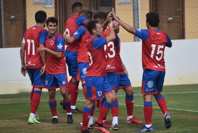 Partido pretemporada del Club Deportivo Numancia de Soria contra Rayo Majadahonda