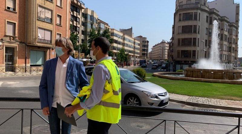 El colector de la avenida Valladolid adelanta el plazo con casi 500.000 euros de inversión y ya se trabaja en proyectos hidráulicos para las travesías Soria