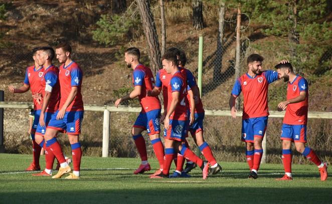 Empate del Numancia ante el Atlético B en Navaleno (1-1)