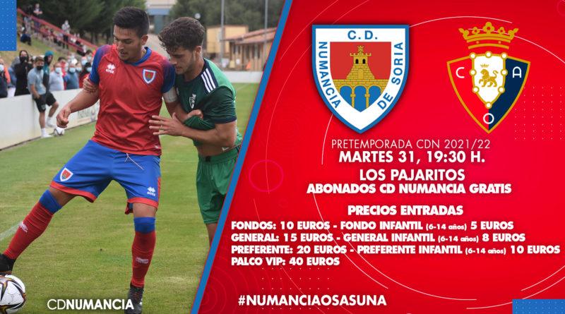 Presentación Club Deportivo Numancia 2021-2022