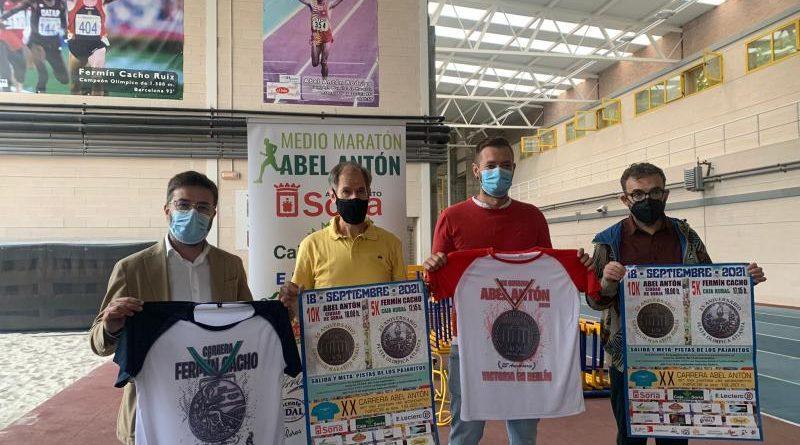 Media Maratón Ciudad de Soria Abel Antón