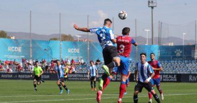 Derrota ante el Espanyol B en Barcelona (1-0)