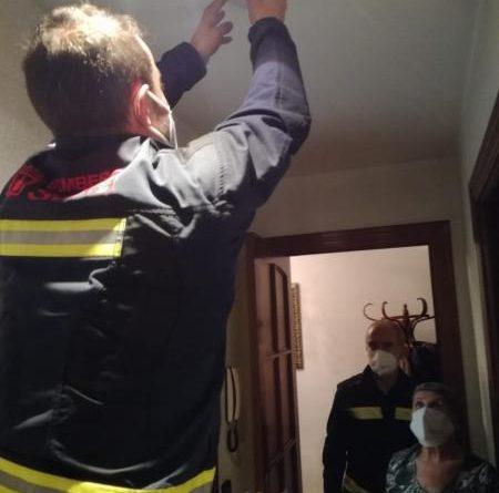 Cuidamos de nuestros mayores bomberos soria