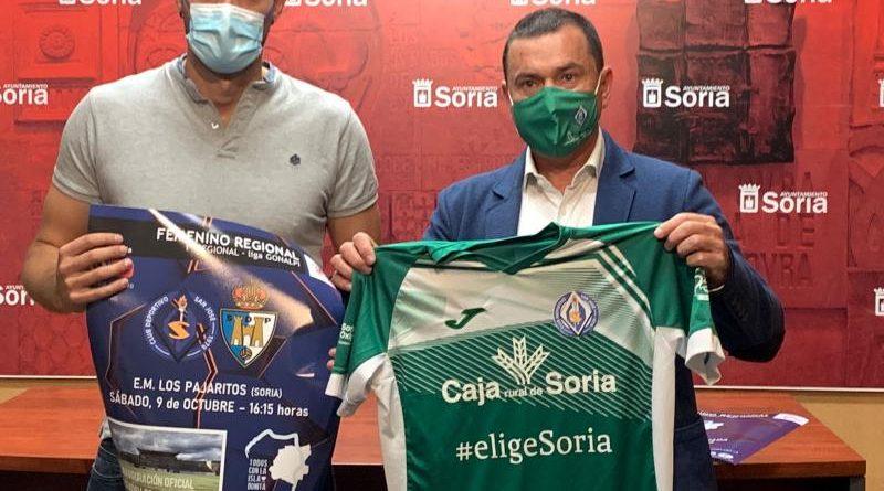 El fútbol femenino convierte Los Pajaritos en su casa y comienza la Liga ante la Ponferradina en un partido solidario a beneficio de La Palma soria