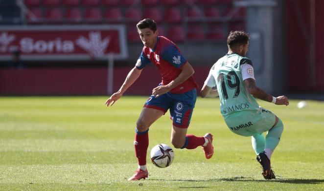 Victoria del Club Deportivo Numancia de Soria contrar el Huesca B